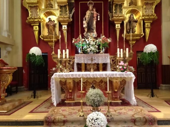 Novena y cultos en honor de Ntra. Sra. del Carmen