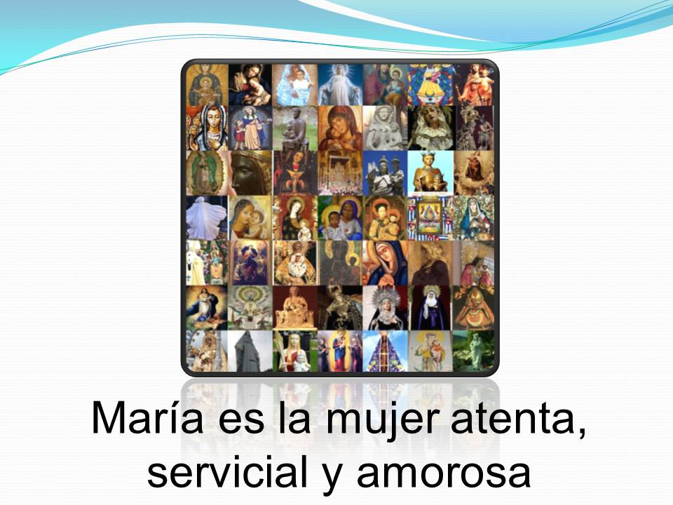mujer servicial